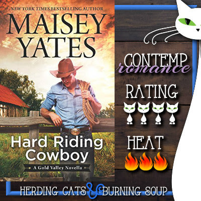 4 stars-- Hard Riding Cowboy (Gold Valley #2.5) by Maisey Yates