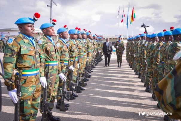 VP Bawumia Celebrates UN Medal Day With Peacekeepers In Lebanon