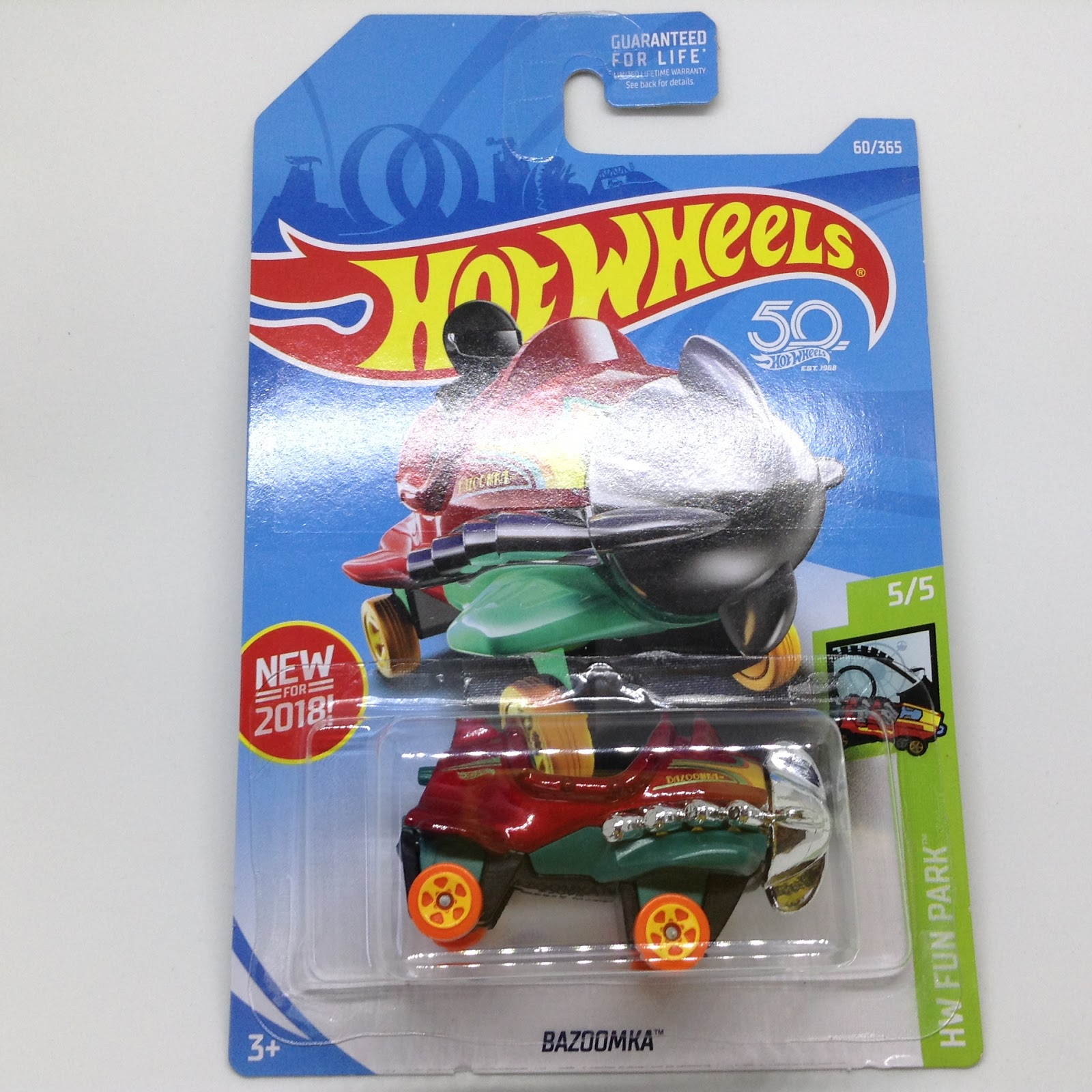 Julian S Hot Wheels Blog Bazoomka New For 2018 Hw Fun