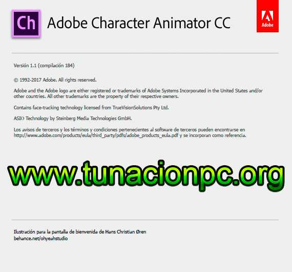 Adobe Character Animator CC 2018 con Activador