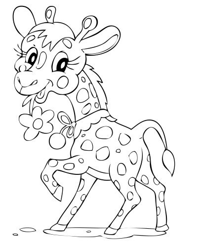 pictures of cute animals coloring pages | 10 Cute Animals Coloring Pages