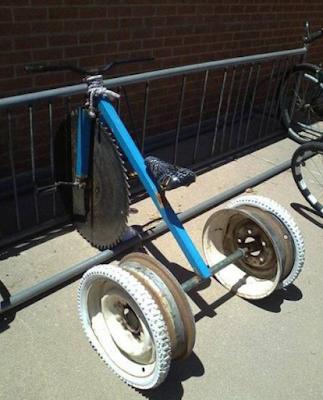 Tricycle pour s'éclater avec ses amis !