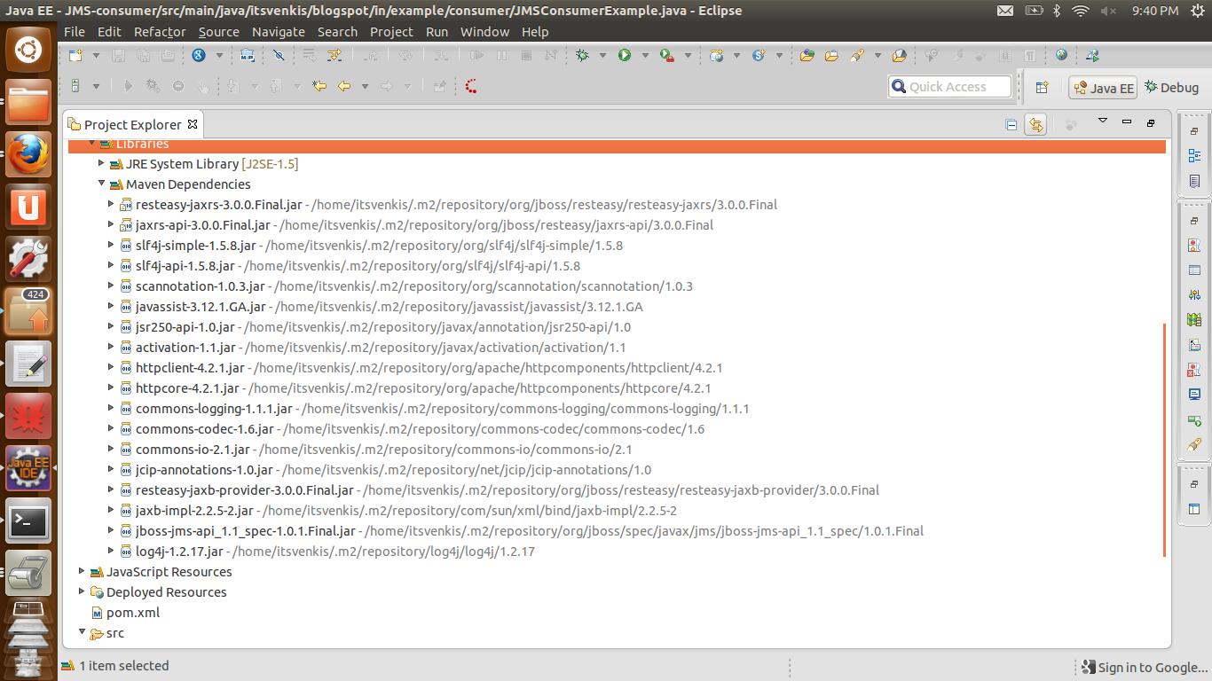 45. 3 the jms api programming model java platform, enterprise.