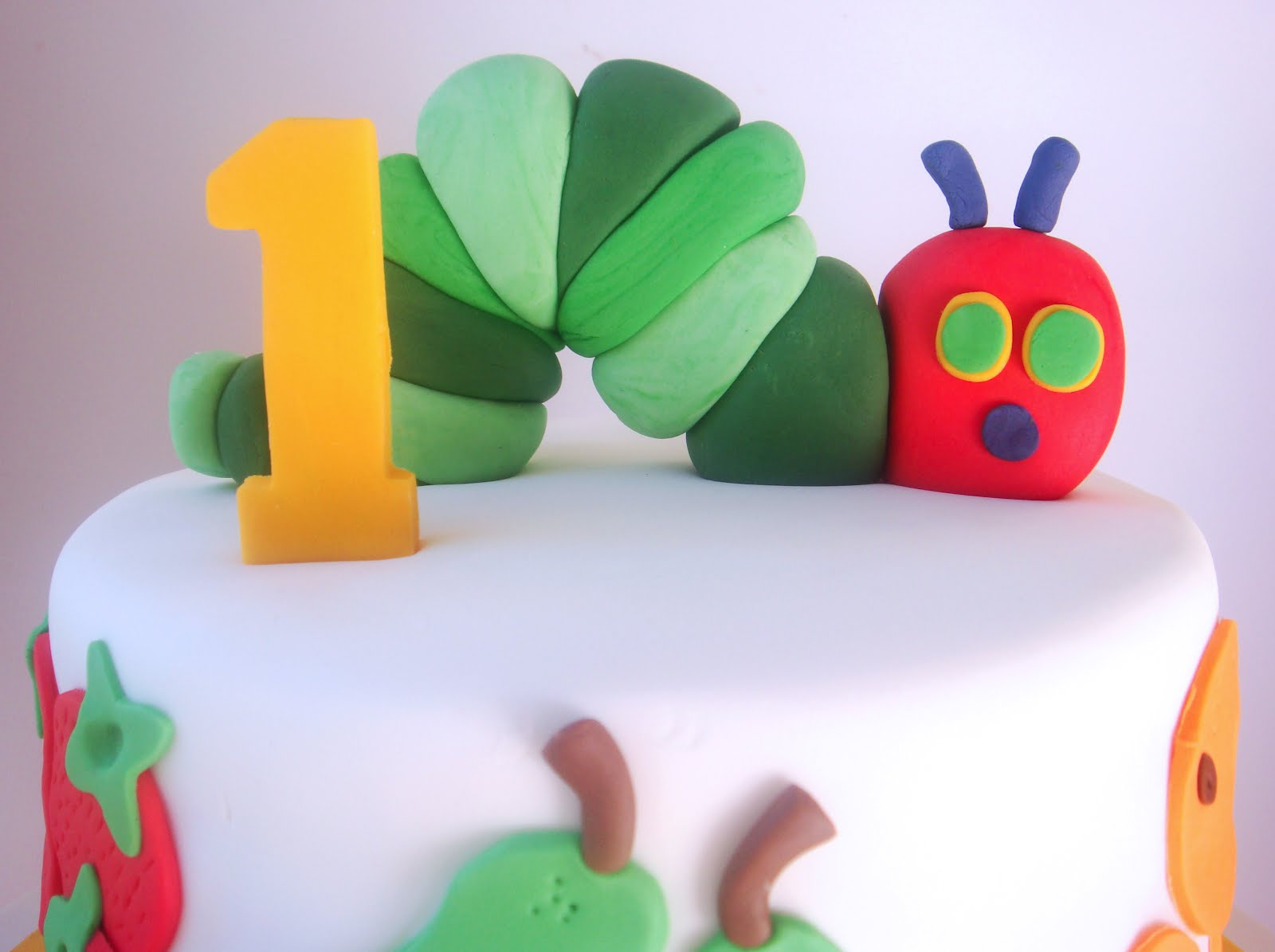 The Hungry Caterpillar Cake Toppers