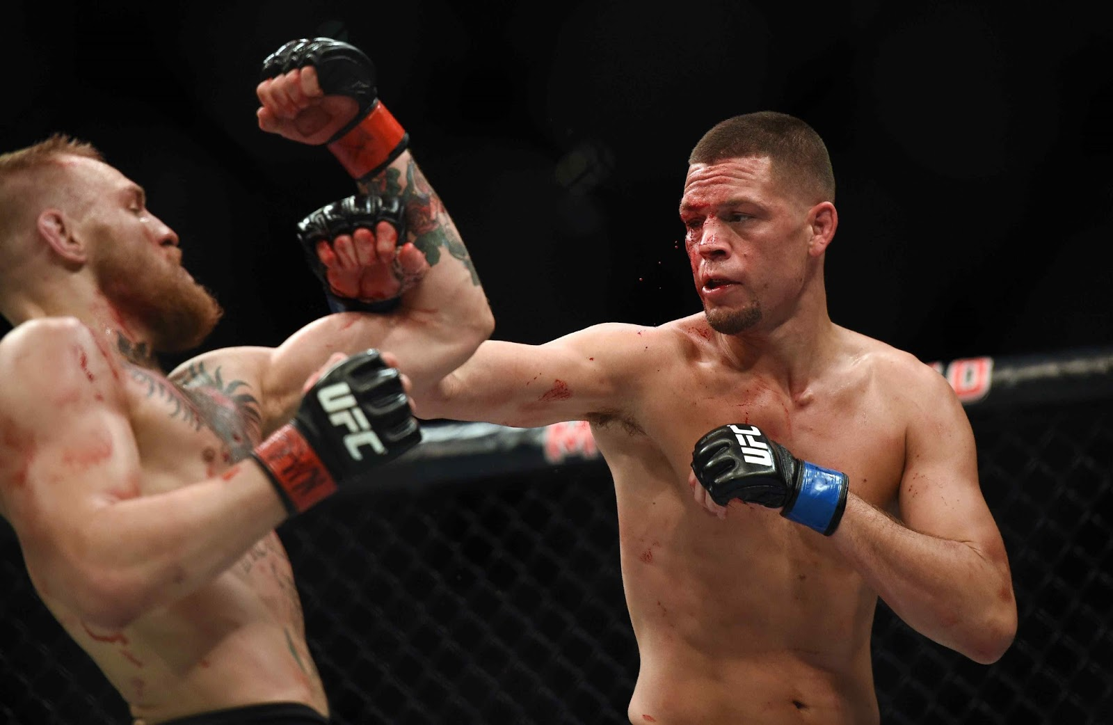 CONOR MCGREGOR VS. NATE DIAZ 11