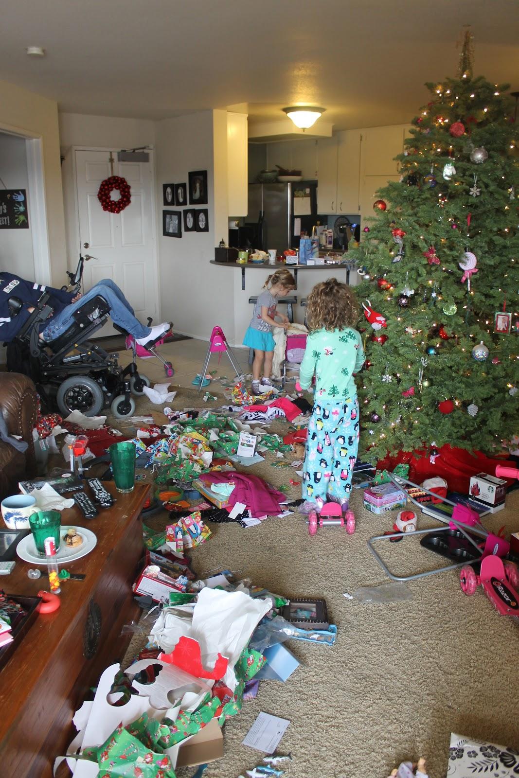 Mezzadri Twins Christmas Morning 2012