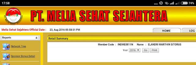 Website member PT Melia Sehat Sejahtera