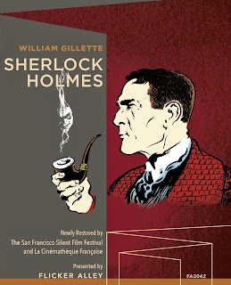 Sherlock Holmes (1916) starring William Gillette on Blu-ray