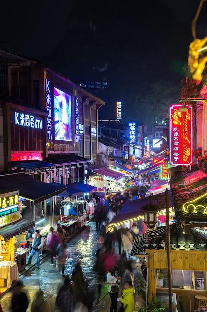 Yangshuo, West street, China