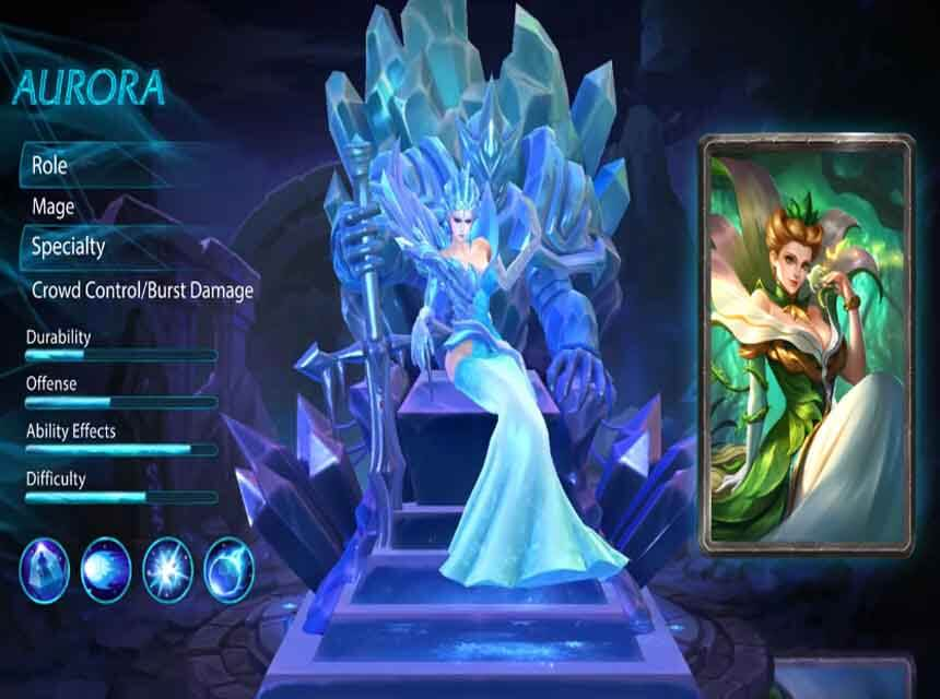 Mobile Legends New Mage Hero Aurora Skills And Abilities