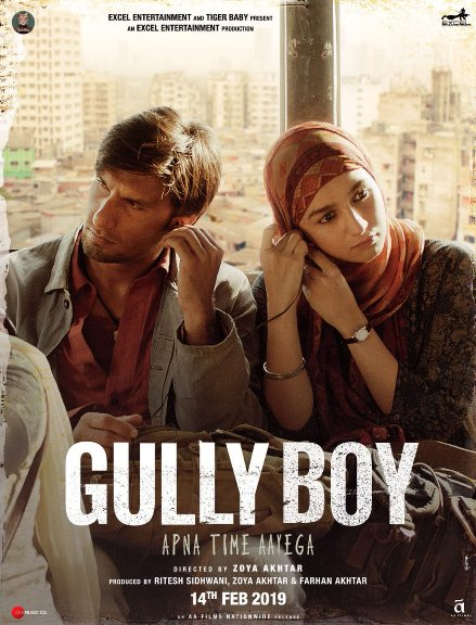 Ranveer Singh and Alia Bhatt film Gully Boy Crosses 81.10 Crore Mark, 2nd Bollywood Highest-Grossing of 2019 Wikipedia