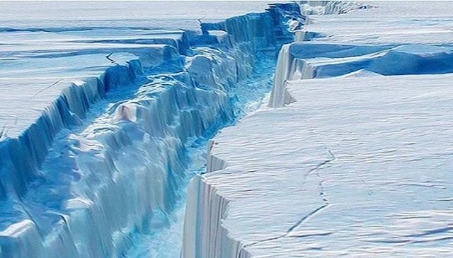 """Στην Ανταρκτική """"γεννήθηκε"""" παγόβουνο στο μέγεθος της Κρήτης"""