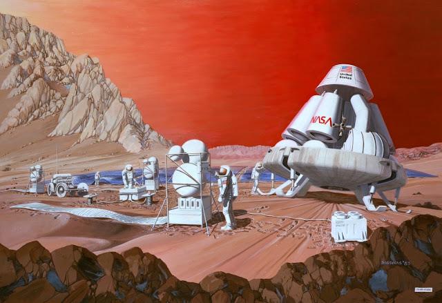 كيف سنعيش على كوكب المريخ