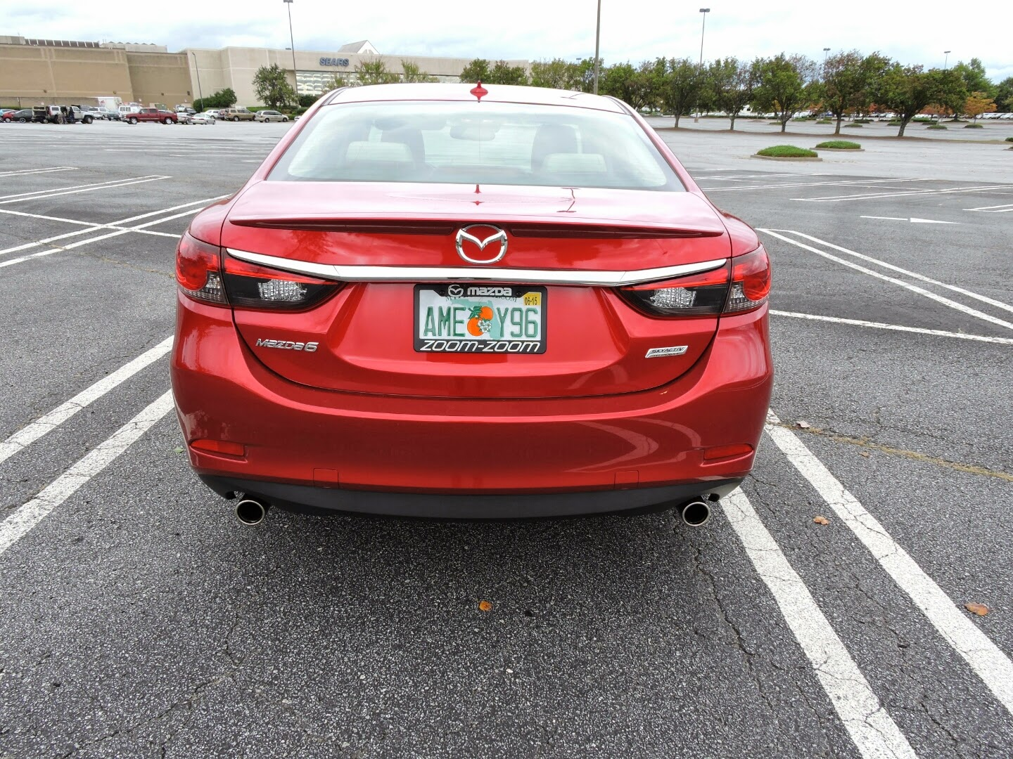 Adventures in 2015 Mazda 6 and Review #Mazda6 via www.productreviewmom.com