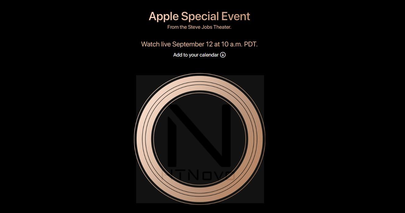 Nuovi-iPhone-2018-Event-Apple