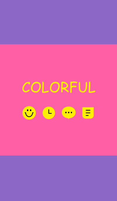 Simple & Colorful [purple-pink]