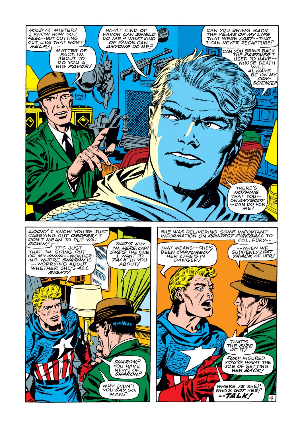 Captain America (1968) Issue #108 #22 - English 5