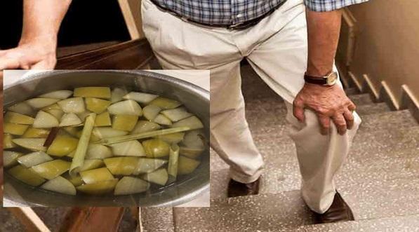 Tiap Kali Naik Tangga, Lutut Rasa Sakit, Cuba Resepi Air Rebusan Ini Untuk Kurangkan Sakit Sendi