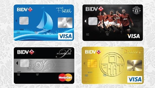 Điều kiện và thủ tục mở thẻ tín dụng BIDV
