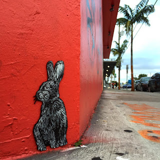 bunny rabbit in the city MAKEYOURCITYWILD make your city wild