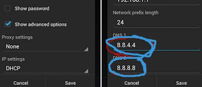 Cara Mengatasi Error DNS_PROBE_FINISHED_NXDOMAIN di Android
