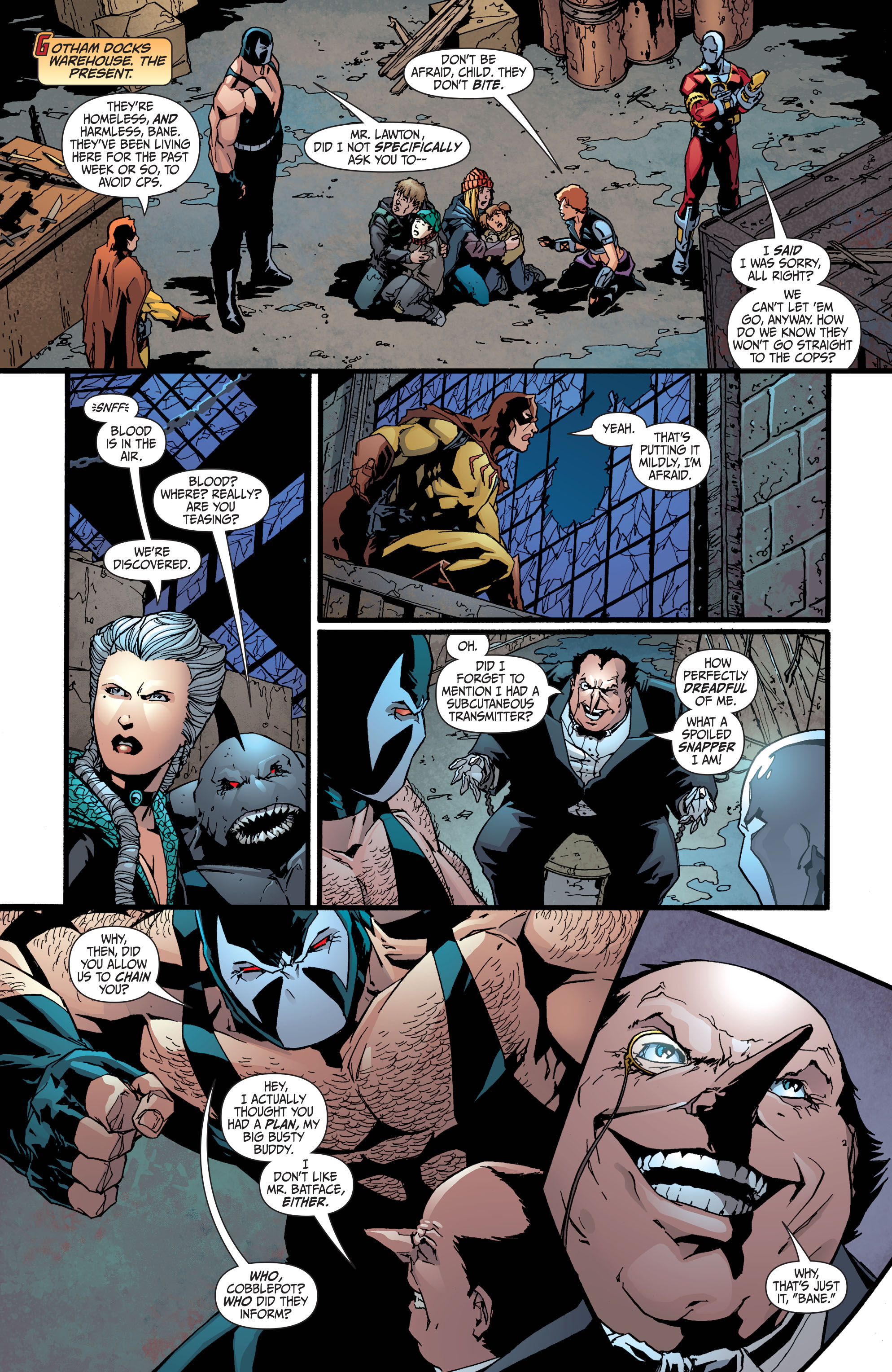 Read online Secret Six (2008) comic -  Issue #36 - 8