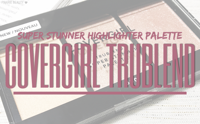 TruBlend Super Stunner Highlighter Palette  by Covergirl #13