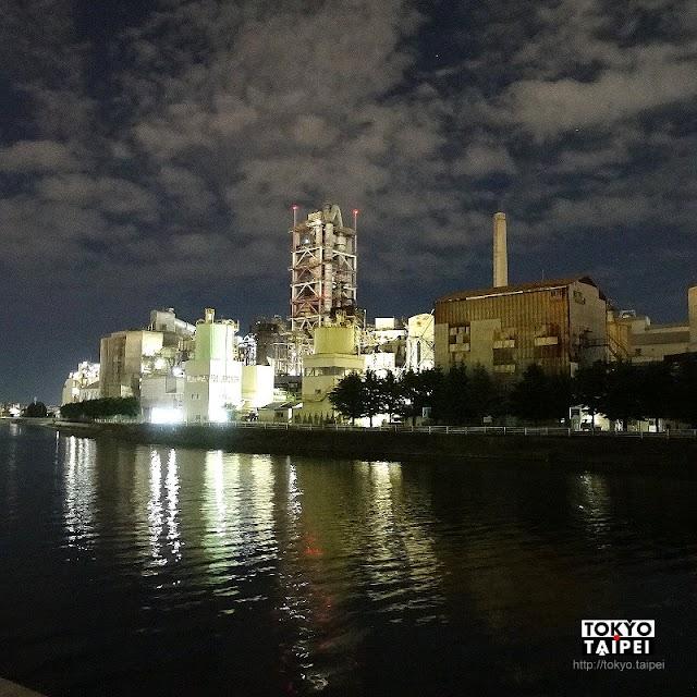 【類家綠地】工場夜景秘境 工業大城小公園獨享水泥廠絢麗夜景