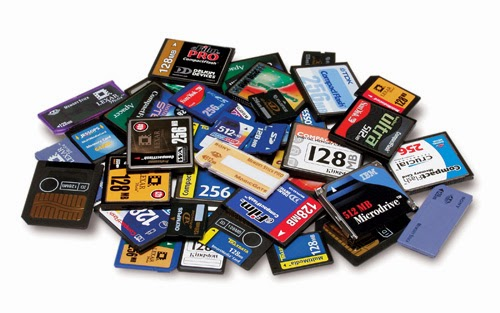 Memory card flasher software