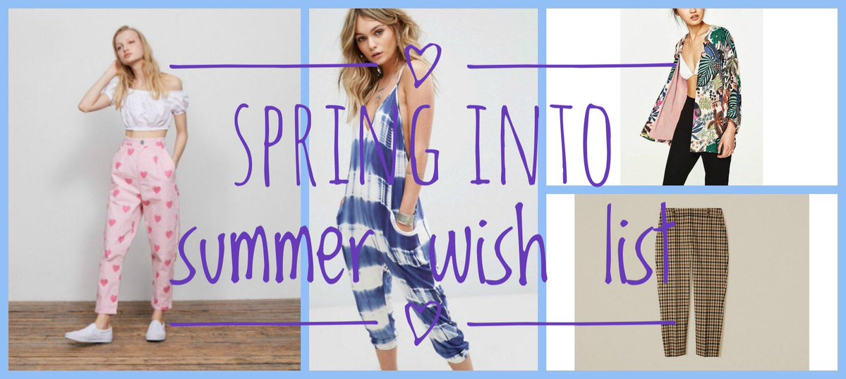 53bea08936fa Spring into Summer wish list. Alternative Style Blogger Iamfoxxtailz