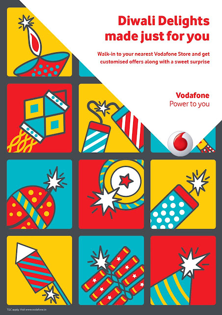 THIS DIWALI, VISIT A VODAFONE STORE TO GET YOUR CUSTOMISED OFFER AND PICK UP YOUR GIFT