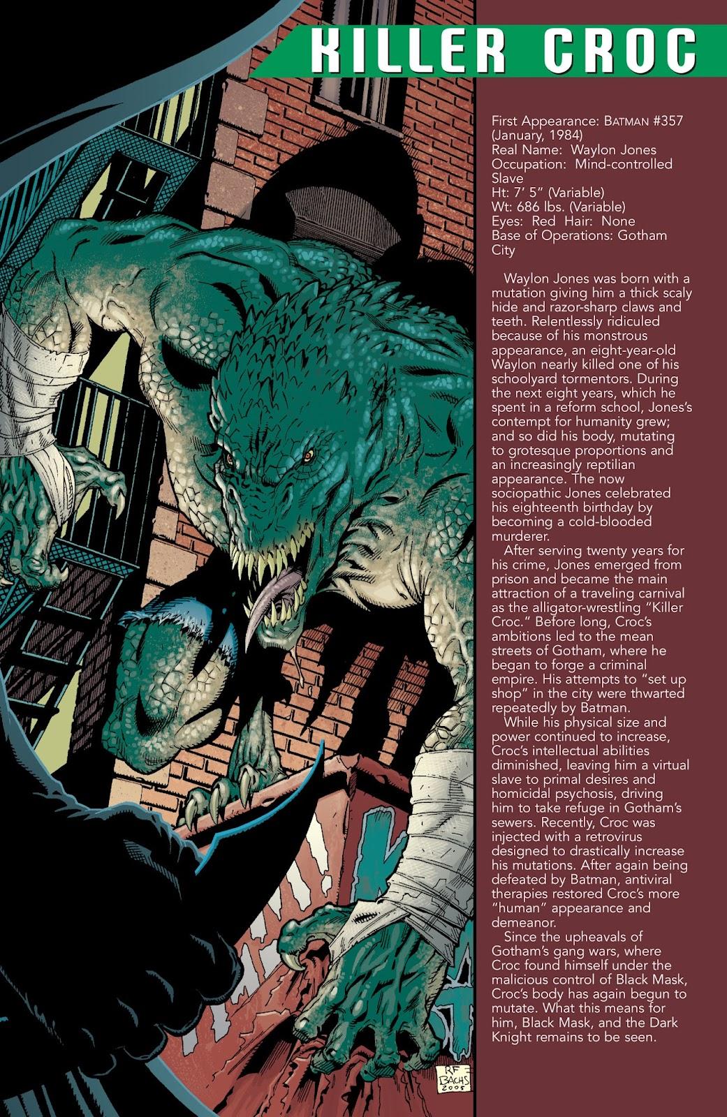 Read online Batman Villains Secret Files and Origins 2005 comic -  Issue # Full - 20