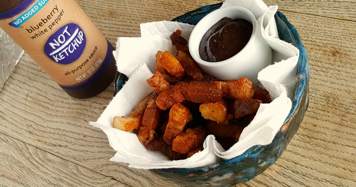 Pork belly fries with Not Ketchup {paleo, low carb, Whole 30}