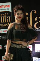 Ritika Singh in a Ethnic Deep Neck Dark Green Choli Ghagra at IIFA Utsavam Awards March 2017 ~ 028.JPG