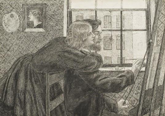 Dante Gabriel Rossetti - Fanny Cornforth - George Boyce