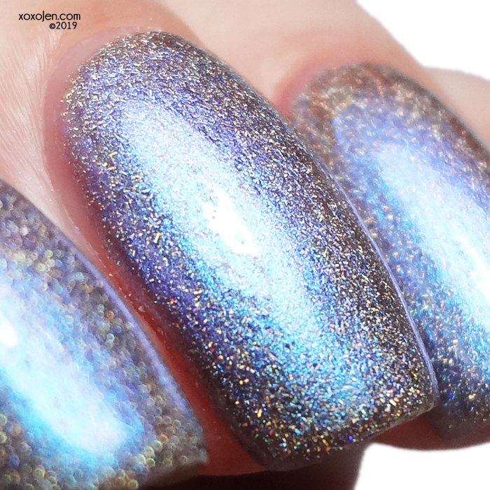 xoxoJen's swatch of kbshimmer Every Day I'm Shovelin'