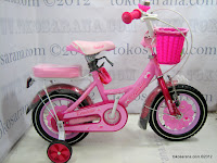 1 Sepeda Anak Erminio Jennife 12 Inci