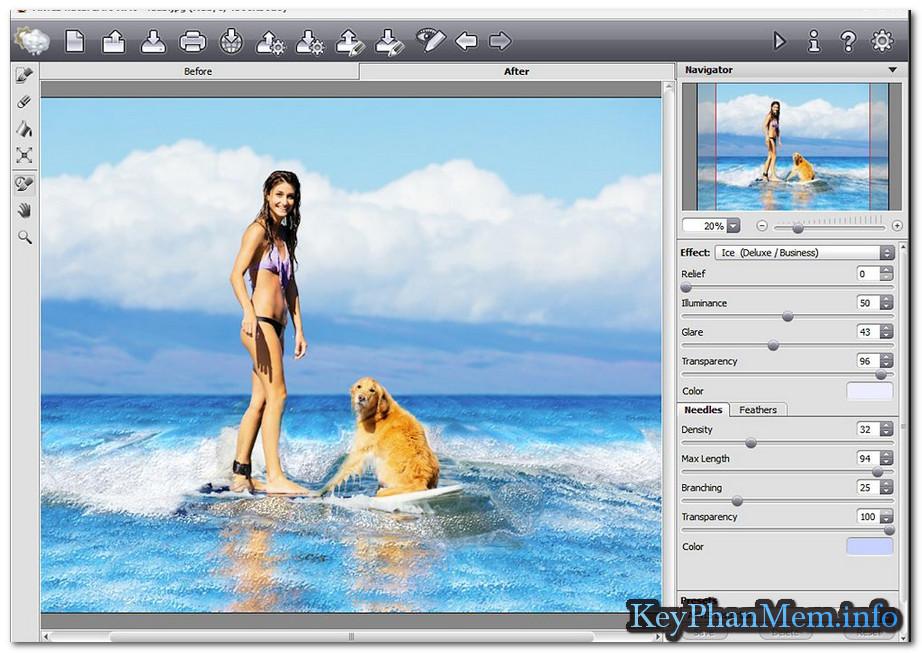 Download AKVIS NatureArt.9.1.1670.14843 Full Key, Thêm hiệu ứng vào bức ảnh của bạn