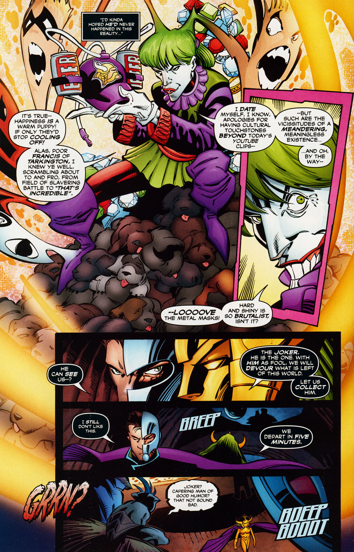 Read online Trinity (2008) comic -  Issue #37 - 21
