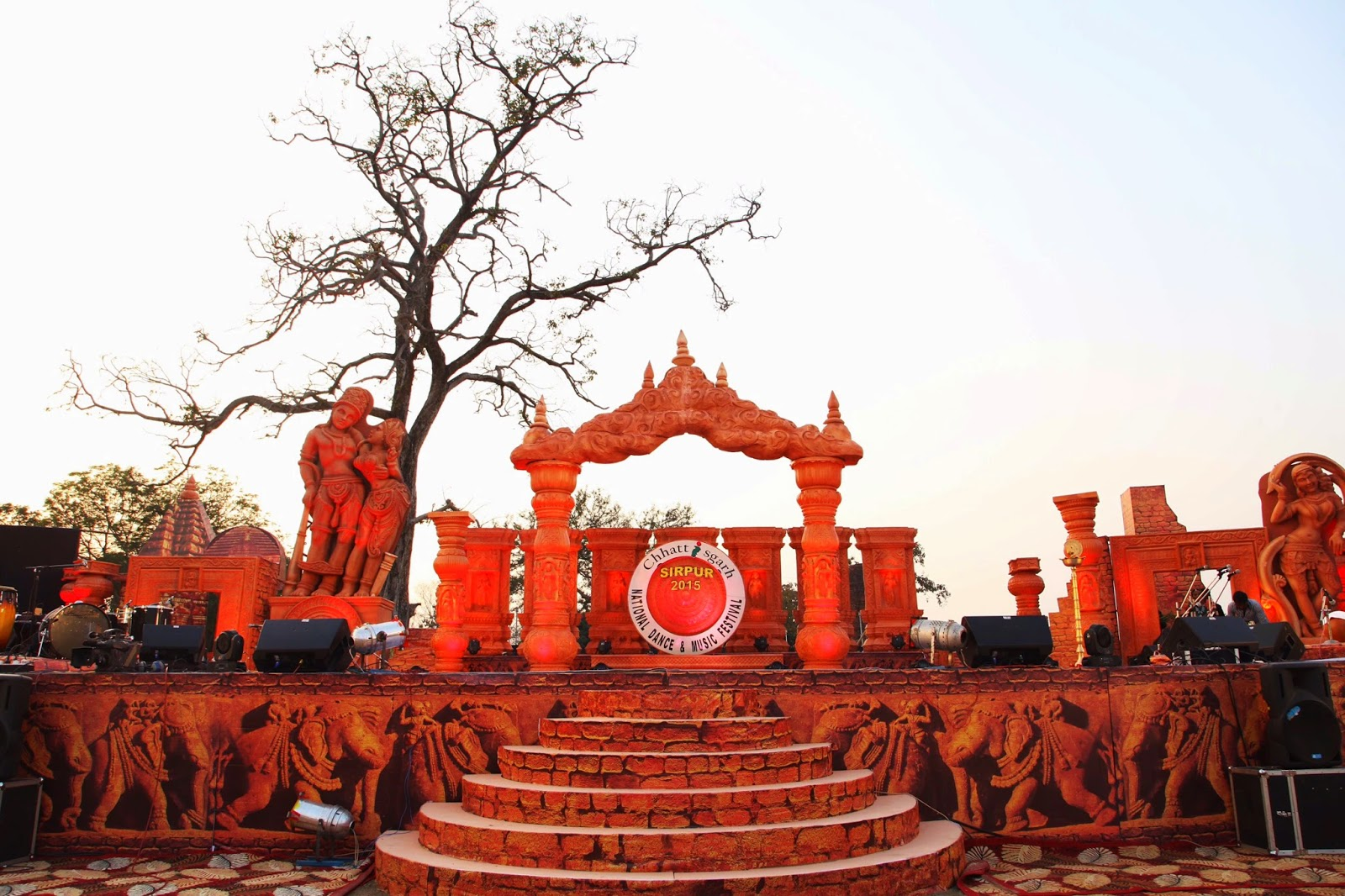 sirpur music and dance festival 2015 stage