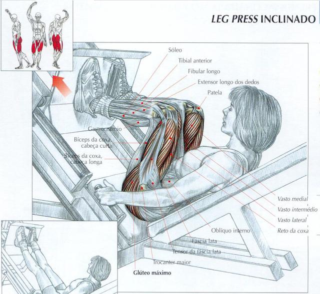 Exercicios no leg press