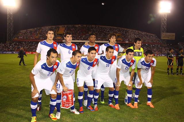 Formación de Chile ante Perú, Copa del Pacífico 2012, 11 de abril
