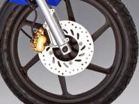 Honda CB125E: Rueda