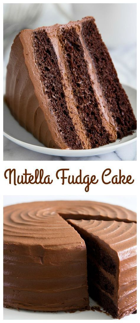 NUTELLA FUDGE CAKE