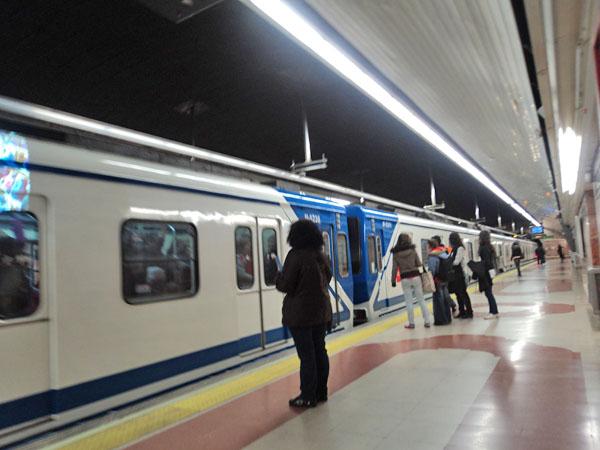El Metro de Madrid pierde cada vez más viajeros