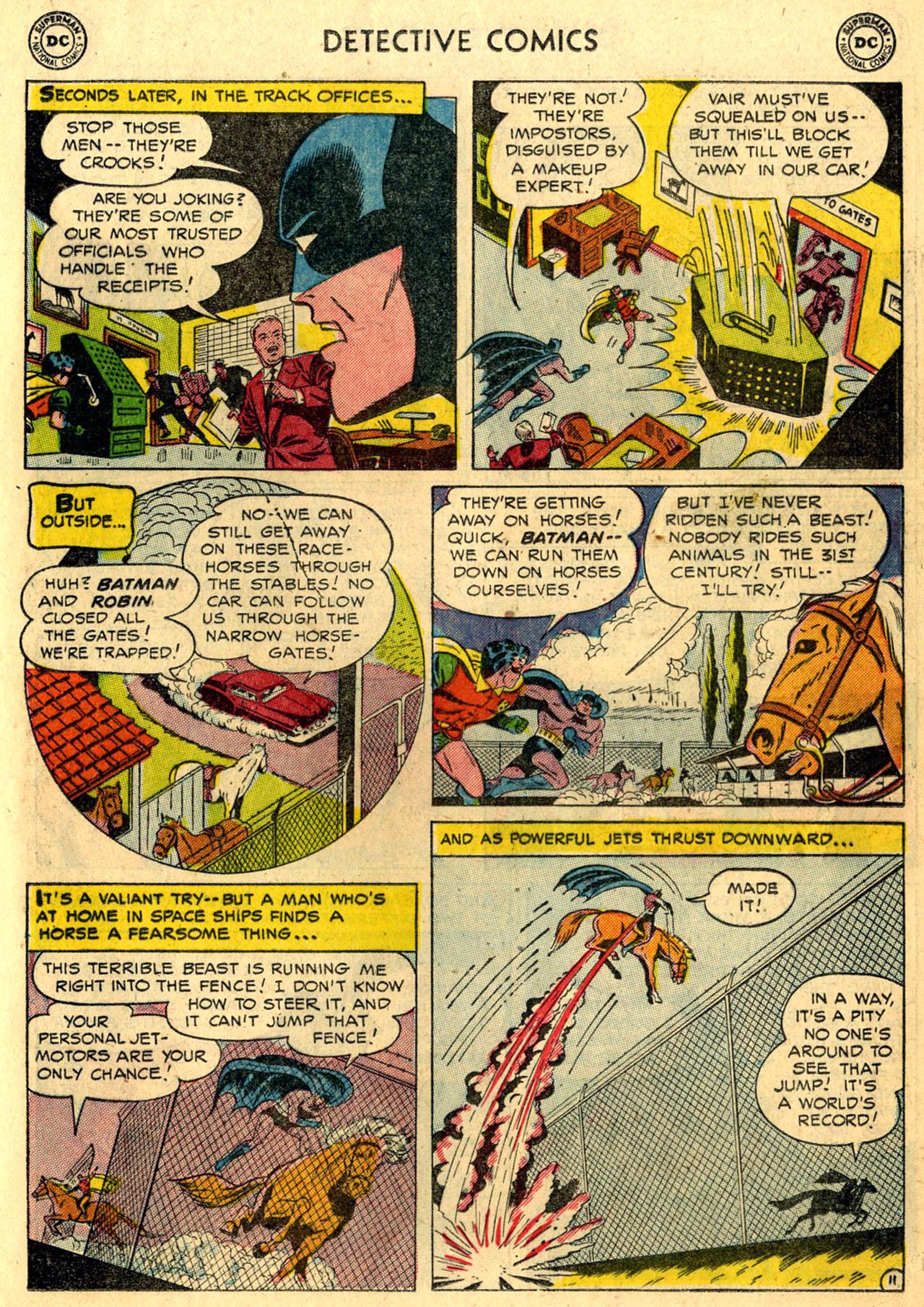 Read online Detective Comics (1937) comic -  Issue #216 - 13