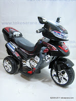 Motor Mainan Aki Pliko PK9818 Police Escort
