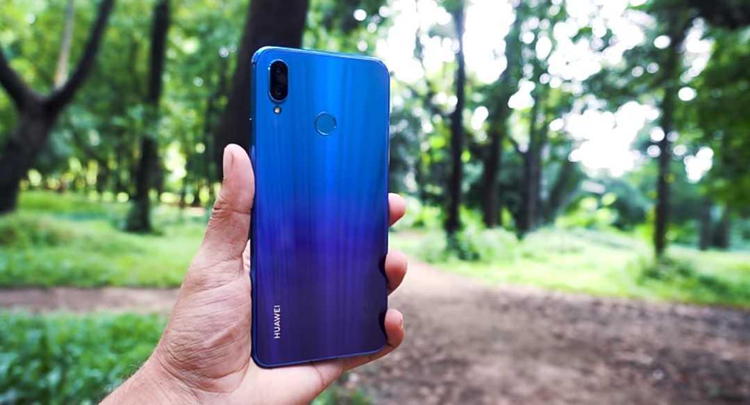 The Irish Purple Color Shifting Feature On The Huawei Nova 3i