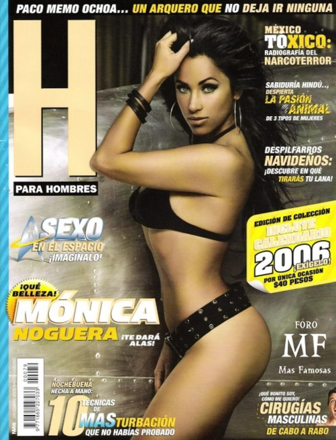 Monica Noguera fotos en revista h