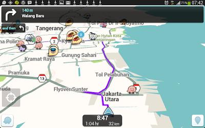 Review Aplikasi GPS Waze di Android